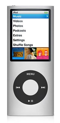 Плеер Apple iPod Nano 16Gb Silver MC060