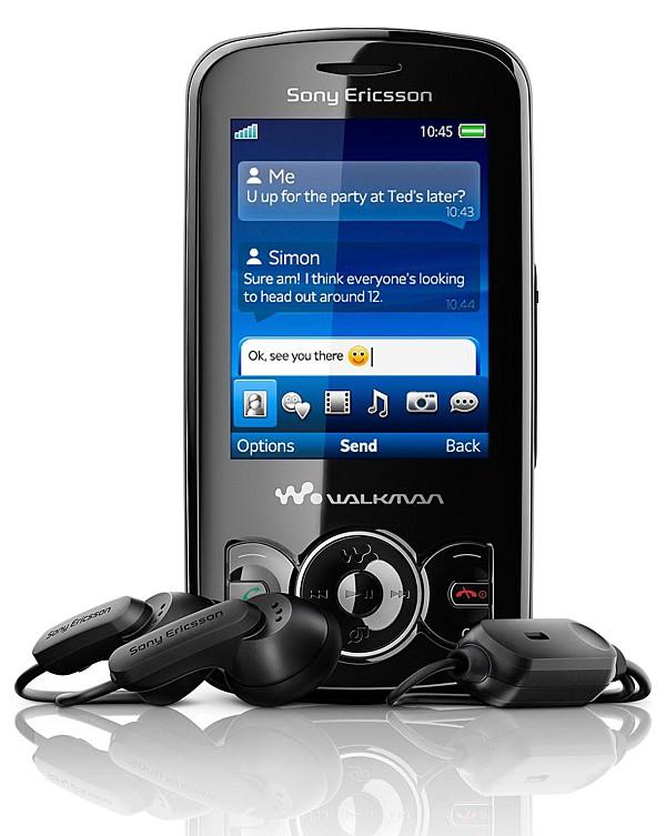 Sony Ericsson W100 Прошивка