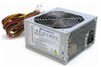 Блок питания FSP ATX 400W 400N 20+4 pin, 120mm fan, I/O Switch, 2*SATA