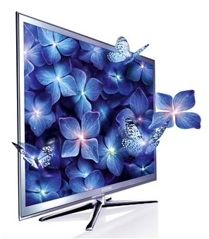 "Телевизор LED Samsung 40"" UE40C7000W Mystic/Crystal Design FULL HD 3D USB 2.0 (Movie) RUS"