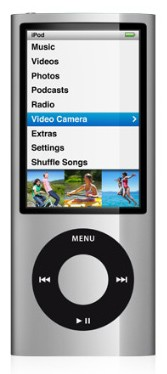 Плеер Apple iPod Nano 8Gb Silver MC027