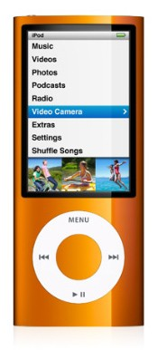 Плеер Apple iPod Nano 8Gb Orange MC046