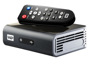 Медиаплеер WD WDBAAP0000NBK-EESN Full HD HDMI Composite/Component video Opt. audio Ethernet 2xUSB