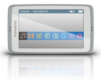 "Плеер Flash Digma Insomnia3 8Gb FM 3"" TFT display white"