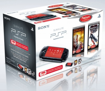 Игровая консоль Sony PlayStation Portable 3008 Tek/Gow (PS719152873)