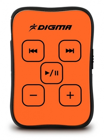 Плеер Flash Digma MP600 4Gb orange