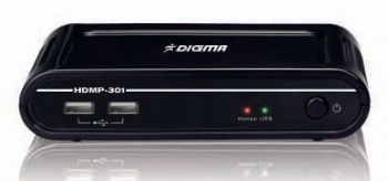 Медиаплеер Digma HDMP-301 Full HD