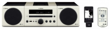 Микросистема Hi-Fi Yamaha MCR-140 USB iPod dock Air-wired белый
