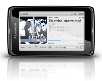"Плеер Flash Digma Insomnia3 8Gb FM 3"" TFT display black"