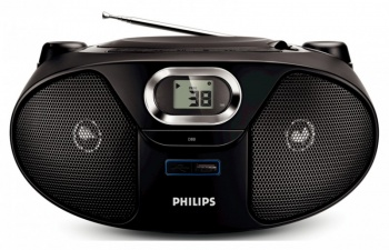 Аудиомагнитола Philips AZ-382/12 CD/MP3/USB