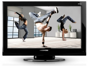 "Телевизор ЖК Hyundai 32"" H-LCD3212 Black HD READY RUS"
